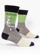 Load image into Gallery viewer, Mr. Fix It Men's Crew Socks