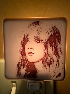 Stevie Nicks Night Light by Hunky Dory Studio