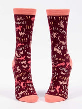 Load image into Gallery viewer, CATS!! Women's Crew Socks
