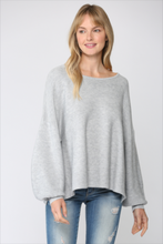 Load image into Gallery viewer, Ribbed Knit Pullover Sweater