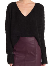 Load image into Gallery viewer, MOONBEAM V-NECK SWEATER