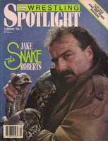 Spotlight Magazine vol.7 Jake Roberts