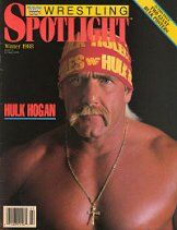 Spotlight Magazine Winter 1988 Hulk Hogan