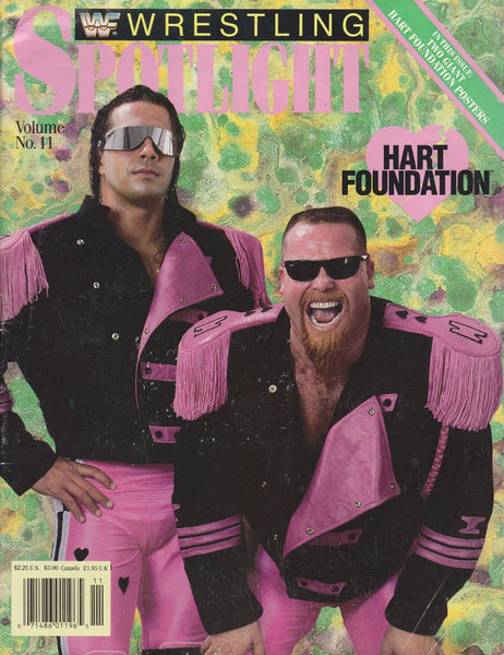 Spotlight Magazine vol.11 The Hart Foundation