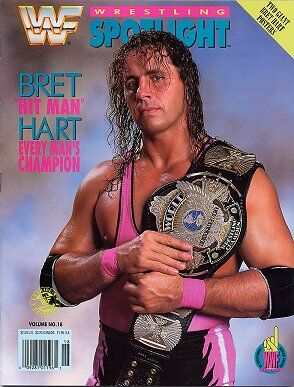 Spotlight Magazine vol.18 Bret Hit Man Hart