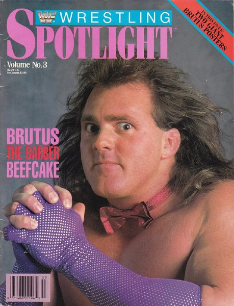 Spotlight Magazine vol.3 Brutus Beefcake