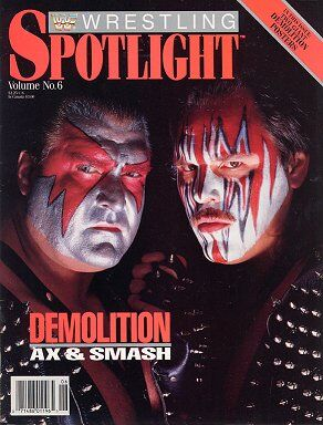 Spotlight Magazine vol.6 Barry Darsow & Demolition