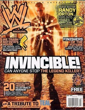 WWE Magazine July 2009 Randy Orton