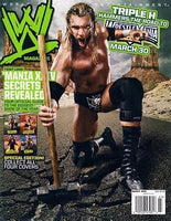 WWE Magazine March 2008 Triple H