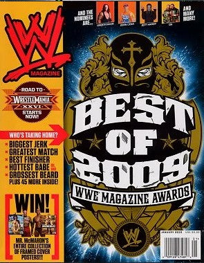 WWE Magazine January 2010
