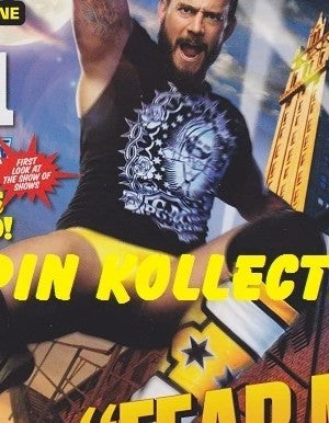 WWE Magazine March 2011 CM Punk