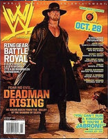 WWE Magazine November 2007 The Undertaker