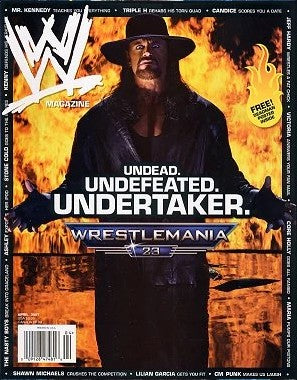 WWE Magazine April 2007 The Undertaker