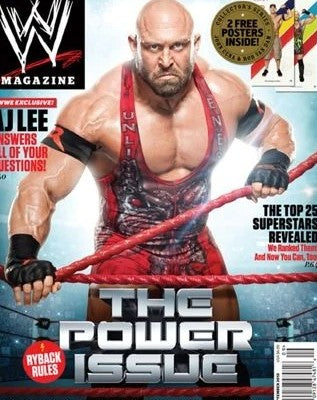 WWE Magazine September 2013 Ryback