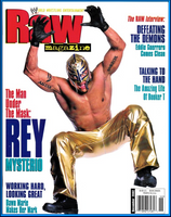 WWE Raw Magazine December 2002 Rey Mysterio
