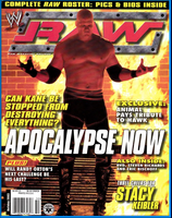 WWE Raw Magazine Holiday 2003