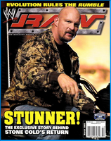 WWE Raw Magazine March 2005 Steve Austin