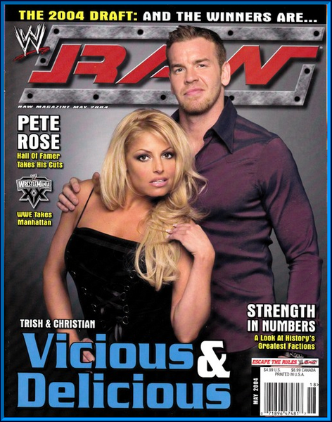 WWE Raw Magazine May 2004