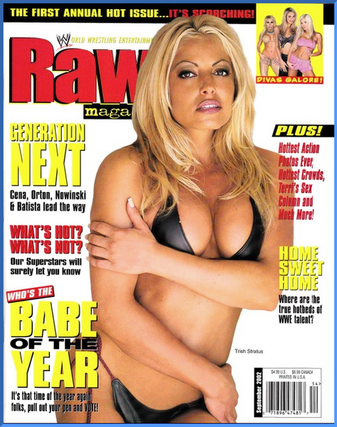 WWE Raw Magazine September 2002