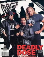 WWF Magazine April 2002 Hulk Hogan