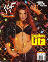 WWF Magazine December 2000 - Lita ( Amy Dumas)