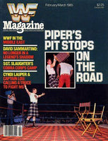 WWF Magazine February/March 1985 Roddy Piper