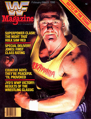 WWF Magazine February/March 1986 Hulk Hogan