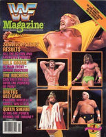 WWF Magazine February 1990 Randy Savage & Warrior