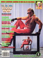 WWF Magazine February 1994 Shawn Michaels & Doink the Clown