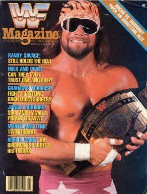 WWF Magazine February/March 1987 Randy Savage