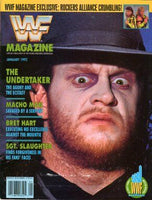 WWF Magazine January 1992