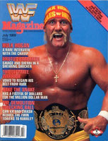 WWF Magazine July 1989 Hulk Hogan
