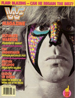 WWF Magazine July 1992 Ultimate Warrior