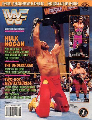 WWF Magazine June 1993 Hulk Hogan