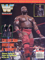 WWF Magazine March 1997 Ahmed Johnson