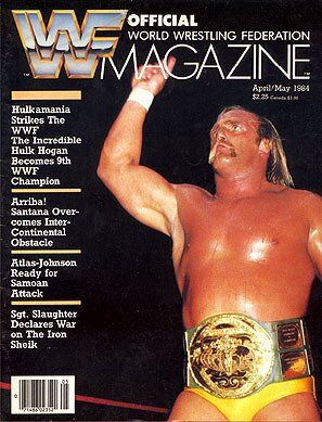 WWF Magazine April/May 1984 Hulk Hogan