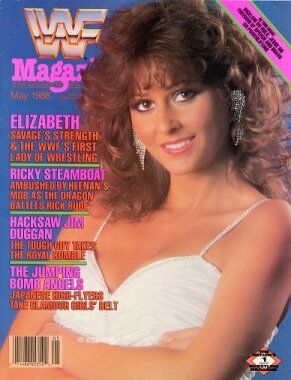 WWF Magazine May 1988 Miss Elizabeth