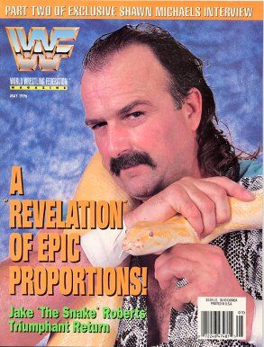 WWF Magazine May 1996 Jake Roberts