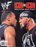 WWF Magazine May 2002 The Rock