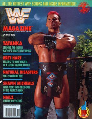 WWF Magazine October 1992 Tatanka