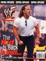 WWF Magazine October 1998 Shawn Michaels