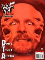 WWF Magazine October 2001 Steve Austin