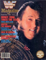 WWF Magazine - September 1987
