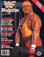 WWF Magazine September 1990 Hulk Hogan