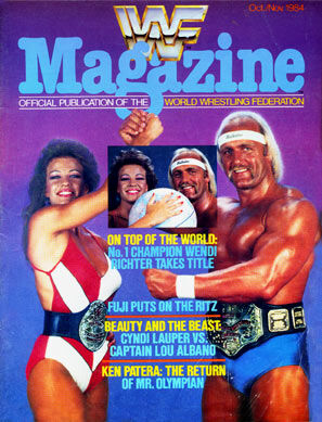 WWF Magazine October/November 1984 Hulk Hogan