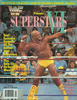 WWF Presents Superstars VI Magazine 1991 Special Edition - Hulk Hogan cover