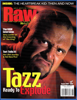 WWF Raw Magazine August 2000 Tazz