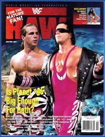 WWF Raw Magazine January / February 1997