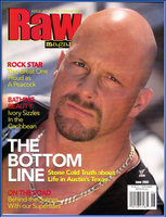 WWF Raw Magazine June 2000 Rock