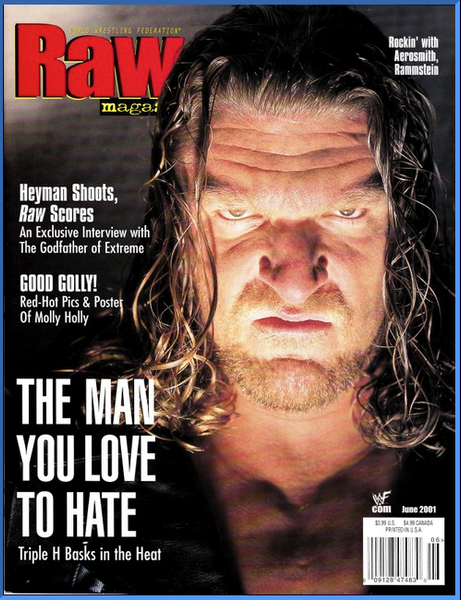 WWF Raw Magazine June 2001